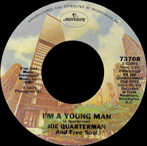 1975 : Joe Quarterman & Free Soul : Single SP Mercury Records 73708 [ US ]