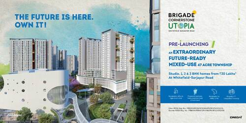Apartments in Whitefield Bangalore | Brigade Eden and Serene | Brigade Group