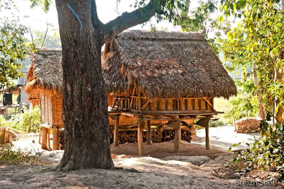 Greniers à grains Luang Namtha