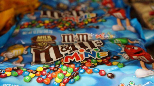 Les M&M's.