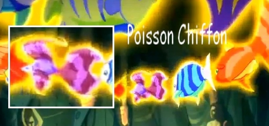 Poisson chiffon