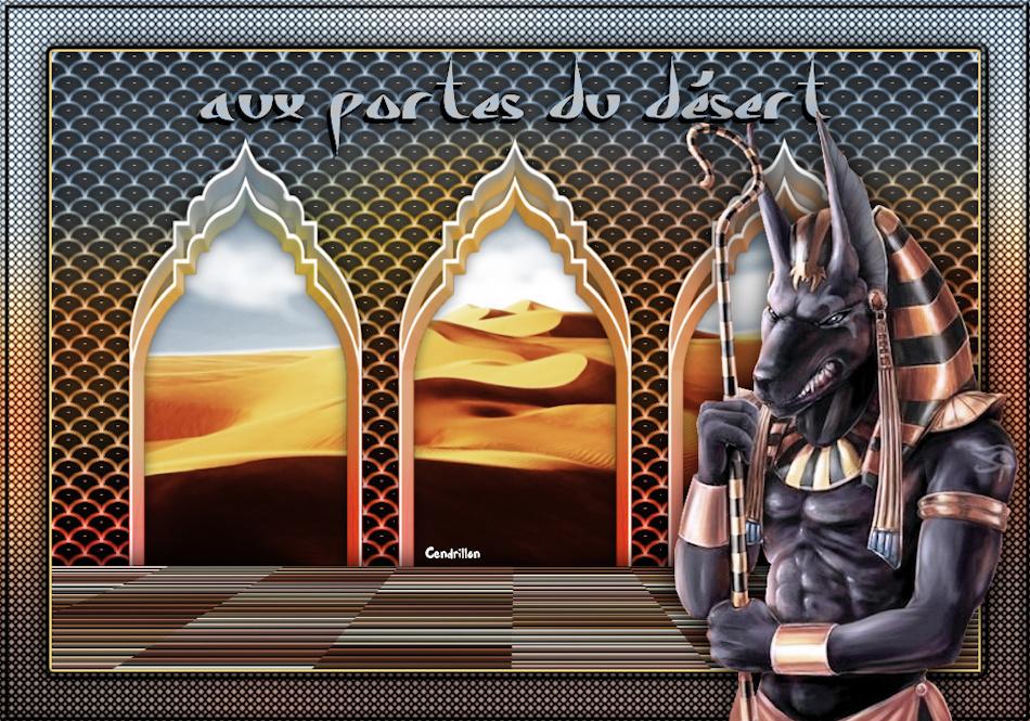 Aux portes du désert - Veroreves