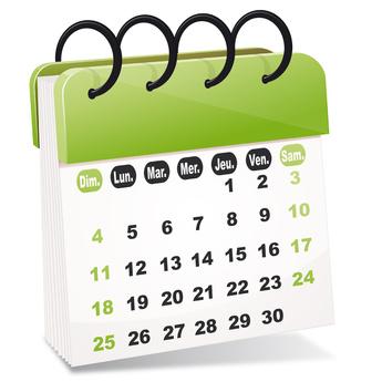 Les grandes dates de 2014-2015