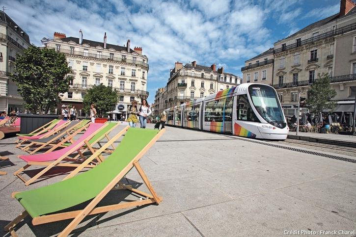 Tramway à Angers