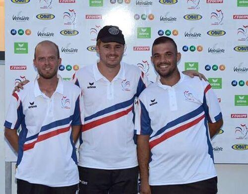 Championnat de France 2016 Triplettes.
