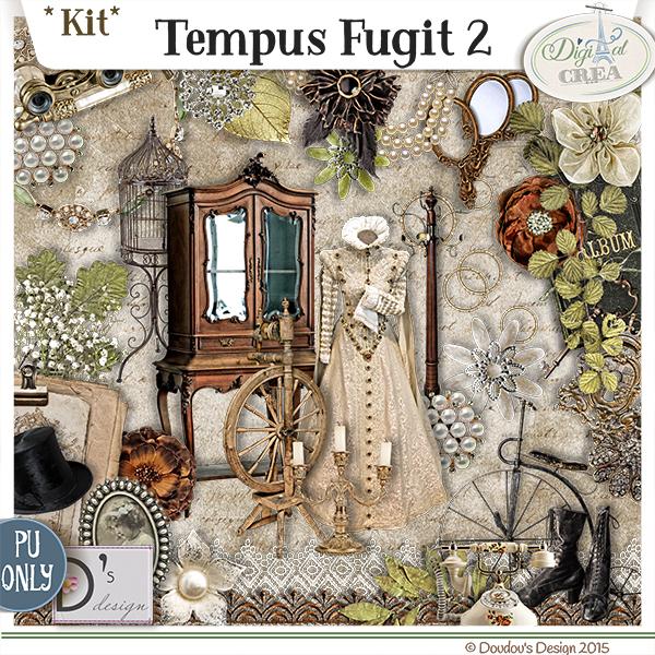 TEMPUS FUGIT PARTS 1 ET 2 BY DOUDOU'S DESIGN
