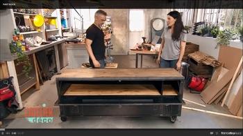 Atelier déco Benoit Moreau France 2 16 mobilier industriel