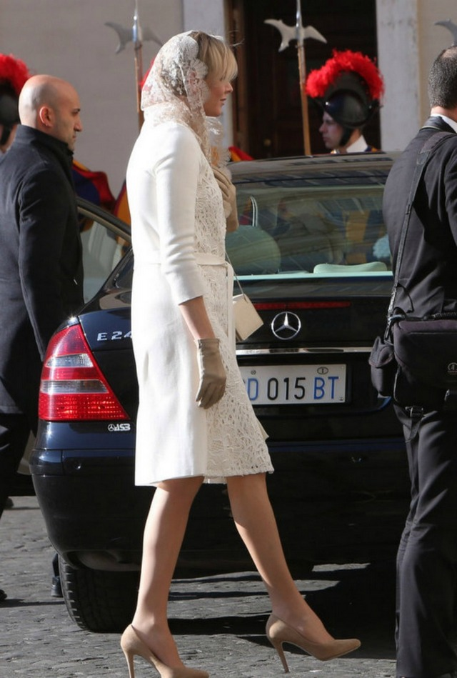 Charlène au Vatican