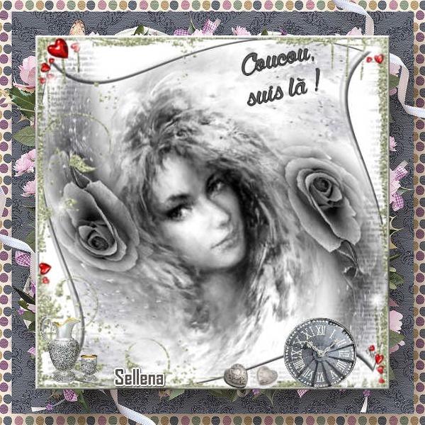 **Roses grises** Cartes