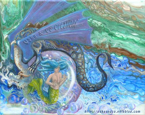 La sirène et le dragon