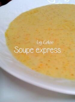 Soupe express