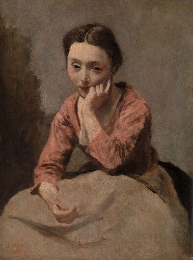 La mélancolie au féminin dans la peinture