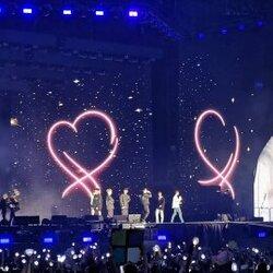 BTS sur scene