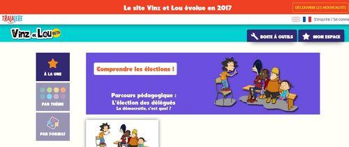 Nouveau site Vinz et Lou
