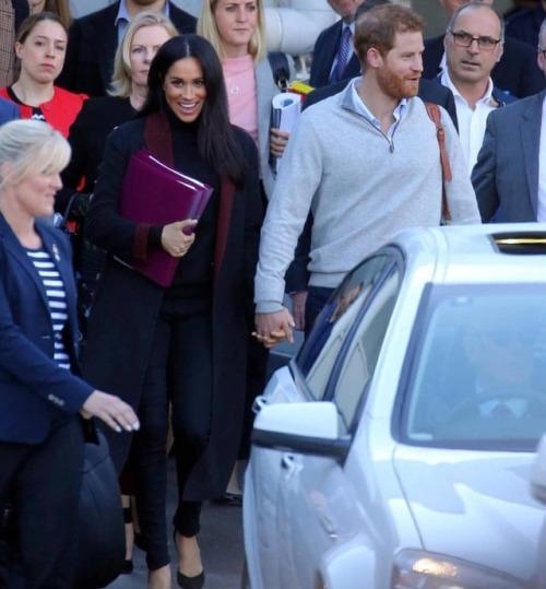 Arrivée de Harry et meghan à Sydney - Australie