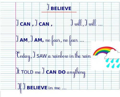 CM2/1 - ♫ You CAN, You CAN ...