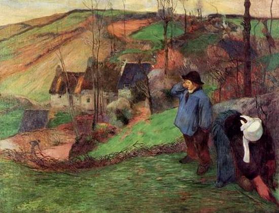 Paul Sérurier, Gauguin, petit berger breton