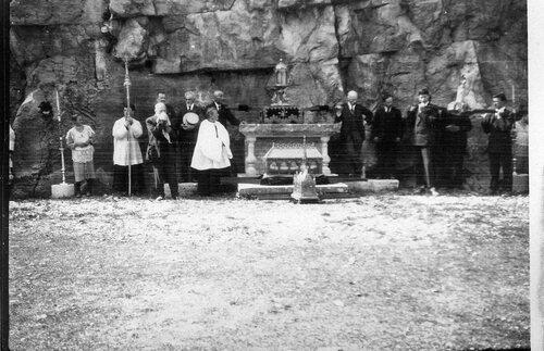 La Sainte Coiffe à Rocamadour en 1935