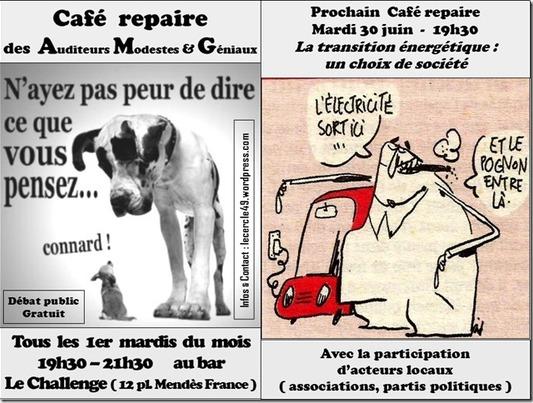 Café repaire 30 juin transition énergétique