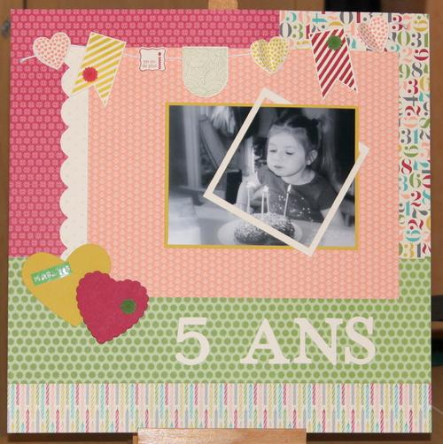 Page : Maëlys 5 ans