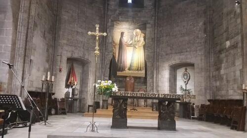 Marseille Abbaye Saint Victor.