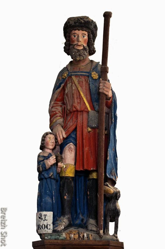 Saint-Roch, église Saint-Symphorien, le Leslay