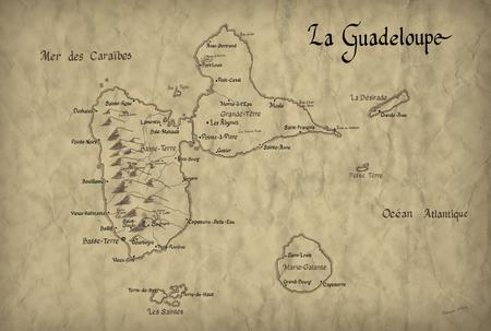 Cartes de Guadeloupe