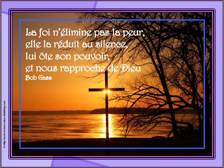 La foi nous rapproche de Dieu