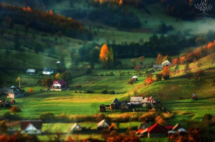 Un photographe prend un automne fabuleux en Roumanie