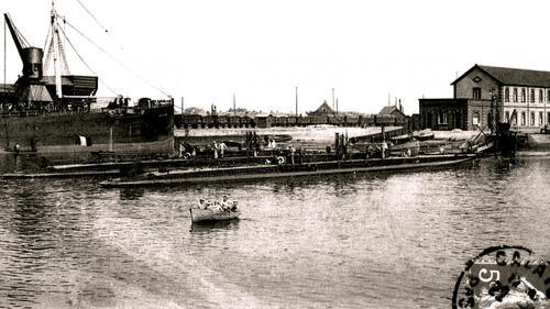 Calais: Une base de sous-marins créée dans le bassin Carnot