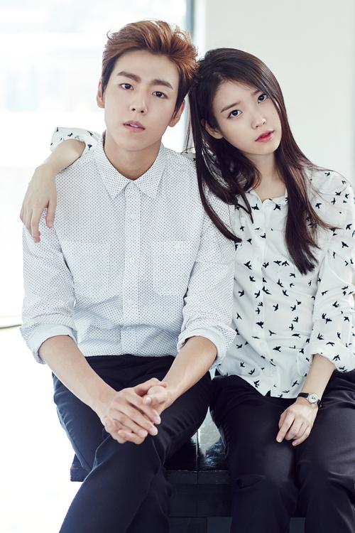 Lee Hyun Woo et IU
