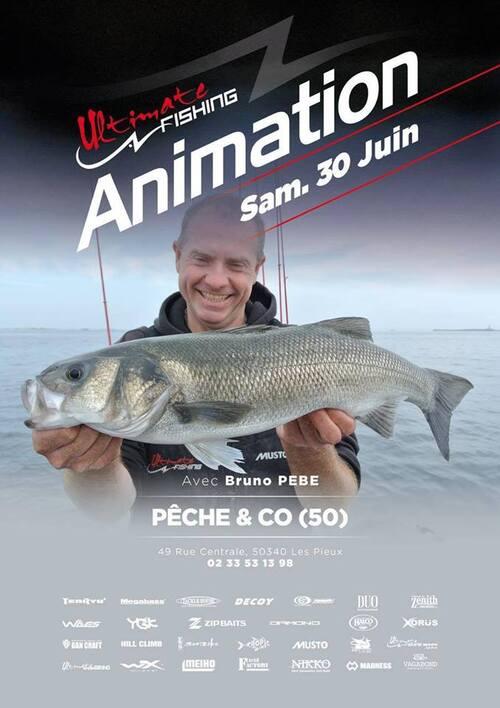 Samedi 30 juin: Démonstration de pêche au leurre chez Pêche an Co !