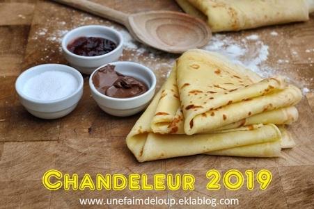Chandeleur 2019 : Toutes mes recettes