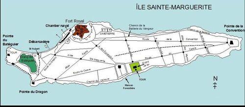 Iles de Lérins, Sainte Marguerite - dimanche 15 septembre