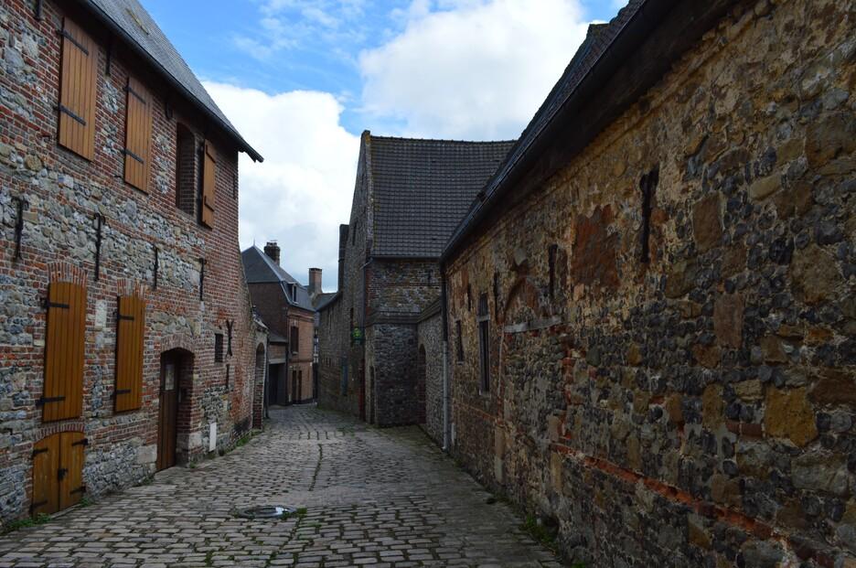 Mes vacances en Baie de Somme (5), Saint-Valery intramuros