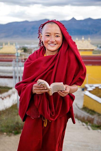 Jeune tibétain