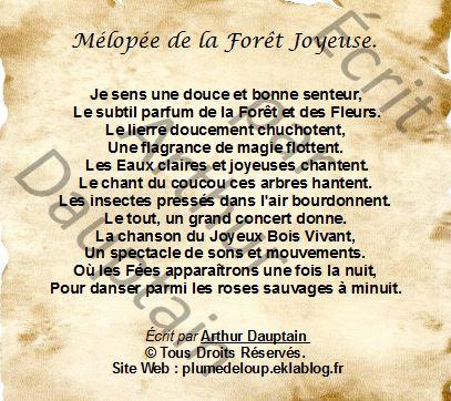 Mélopée de la Forêt Joyeuse