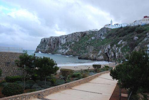 La falaise depuis le port
