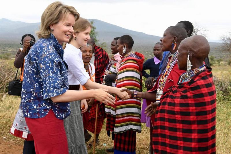Chez les Masaïs