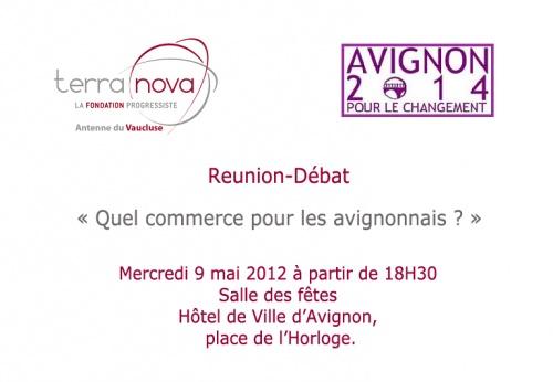 Réunion Commerce 9 mai