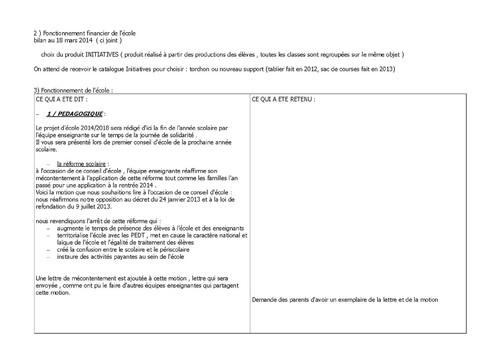 Conseil Ecole G.Fev. 2014 p2