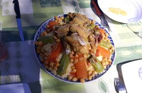 Voilà le couscous au poulet
