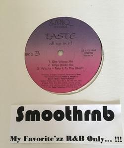 TASTE - ALL UP IN IT ! (VLS 1992)