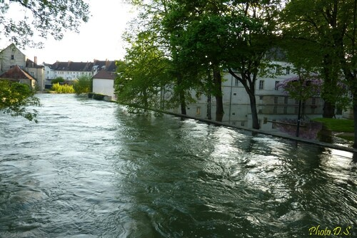 Que d'eau, que d'eau à Châtillon sur Seine en mai 2013...