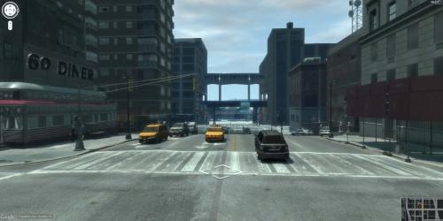 Le jeux GTA en mode Street View