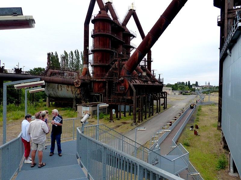 Uckange / Le Parc du Haut-Fourneaux U4...