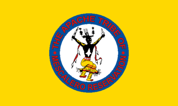 Flag of the Mescalero Apache Tribe