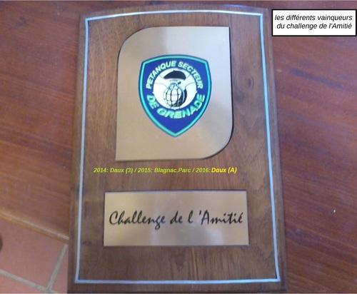 4e Challenge de l'amitié du Secteur 2017.