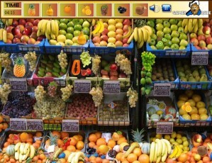 Fruits shop - Hidden objects