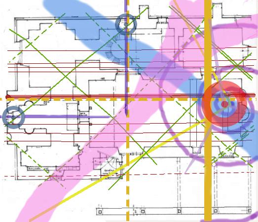géobiologie : plan de réseaux